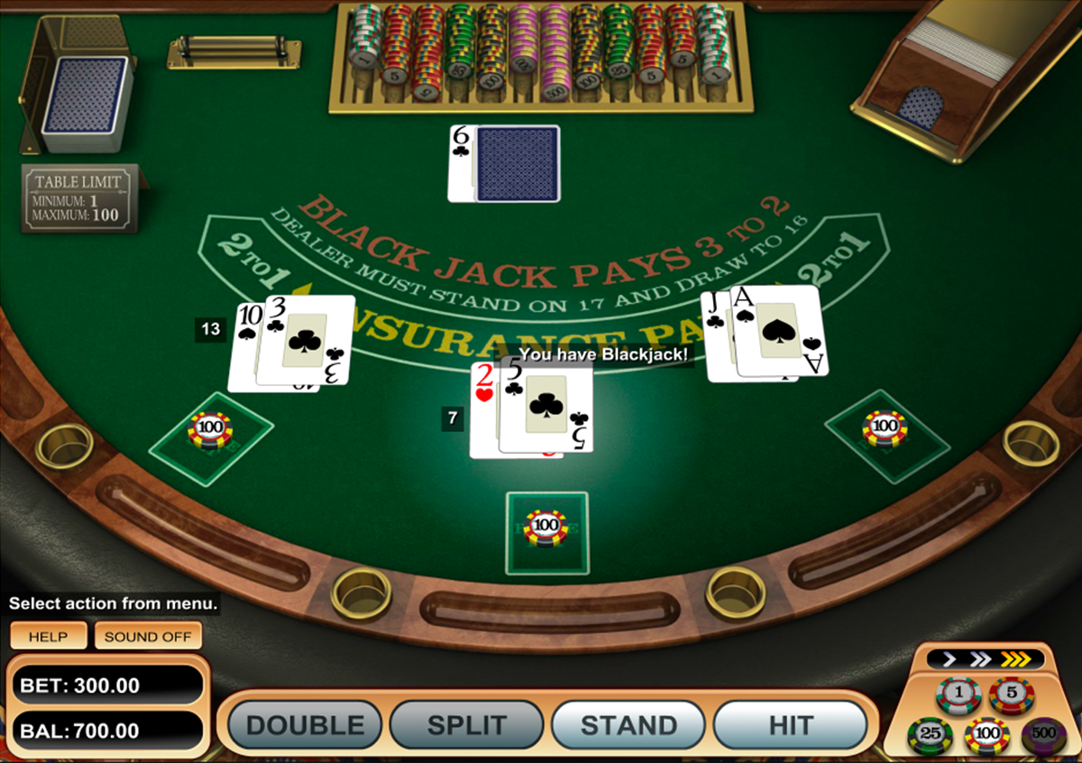 american blackjack betsoft